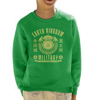 Earth Is Strong Avatar The Last Airbender Kid's Sweatshirt