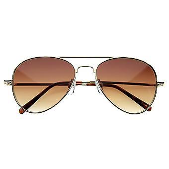 Kleine klassische Pilotenbrille Sonnenbrille 50mm Flieger