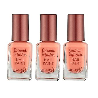 Barry M X3 Barry M Coconut Infusion Nail Paint Flamingo