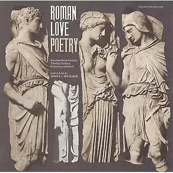 John F.C. Richards - Roman Love Poetry-Selections From Catullus Tibullu [CD] USA import