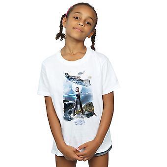 Star Wars jenter siste Jedi Rey Falcon t-skjorte