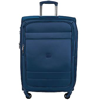 Delsey indiscrete 4-roller suitcase trolley soft luggage 69 cm