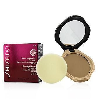 Shiseido Sheer & Perfect Compact Foundation SPF15 - #B20 Natural Light Beige 10g/0.35oz