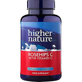 Higher Nature Rosehips C 1000mg, 180 Tablets