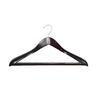 Caraselle Shaped Walnut pak Hanger 45 cms breed