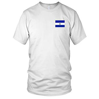El Salvador land nationale Flag - broderet Logo - 100% bomuld T-Shirt damer T Shirt