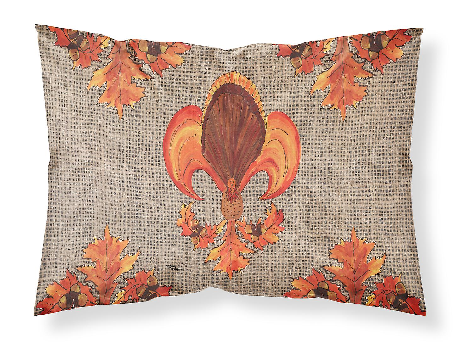 Turquie L'humidité Tissu Fleur De Standard Lis Taie D'oreiller Thanksgiving Wicking Nnw0vm8