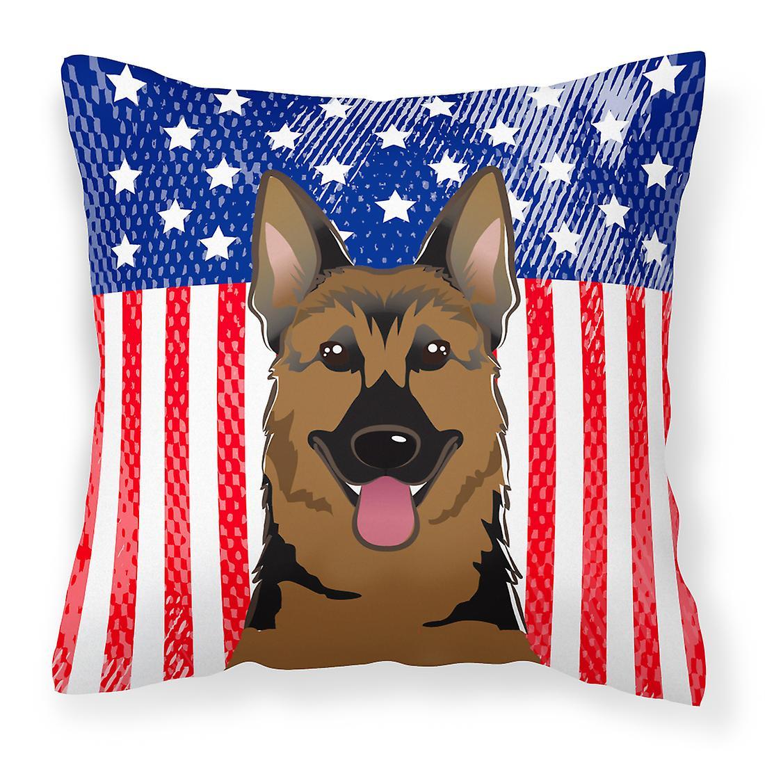 Américain oreiller décoratif drapeau et tissu de berger allehommed