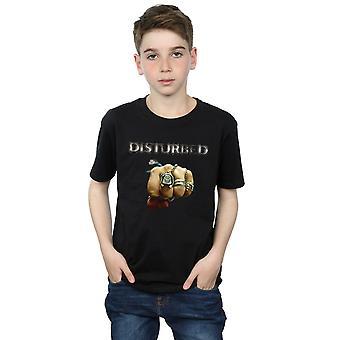Forstyrret gutter knyttneve Logo t-skjorte