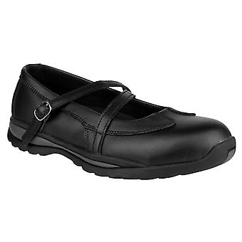 Amblers Womens/Ladies 55 S1P Buckle Safety Shoes
