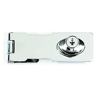 Yale Yale Locking Hasp Chrome Finish- 116mm
