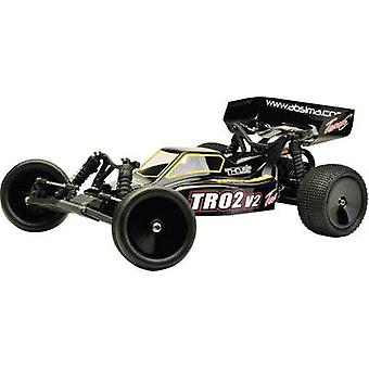 Team C TR02V2 Brushed 1:10 RC model car Electric Buggy RWD RtR 2,4 GHz