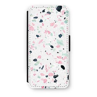 iPhone 5/5 s/SE フリップ ケース - テラゾー N ° 3