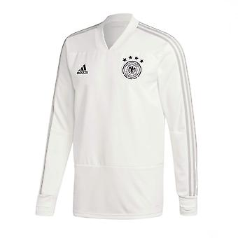 2018-2019 Germany Adidas Training Top (Pure White)