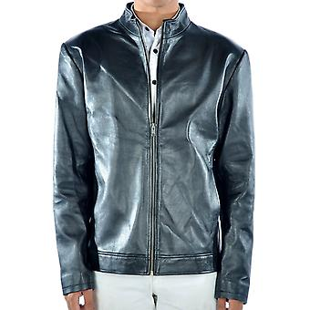 Aidan Mens Leather Jacket