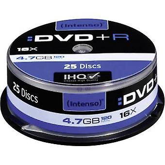 Blank DVD+R 4.7 GB Intenso 4111154 25 pc(s) Spindl
