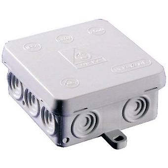 Junction box (L x W x H) 80 x 80 x 40 mm Wiska 10060490 White