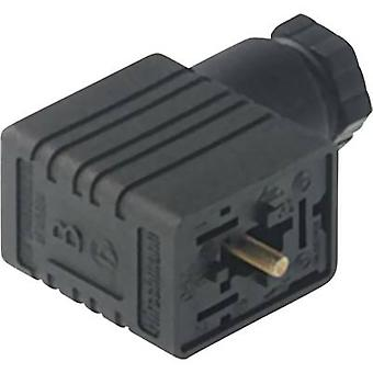 Hirschmann 933 398-100 GML 209 NJ GB1 Contact Box With Electronic Insert Black Number of pins:2 + PE