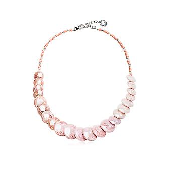 Antica Murrina ladies CO959A03 pink metal Hall chain