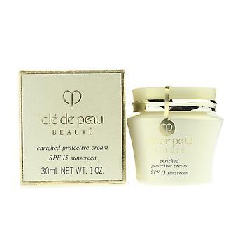 Cle De Peau 'Beaute' Enriched Protective Cream SPF15 1.0Oz/30ml New In Box