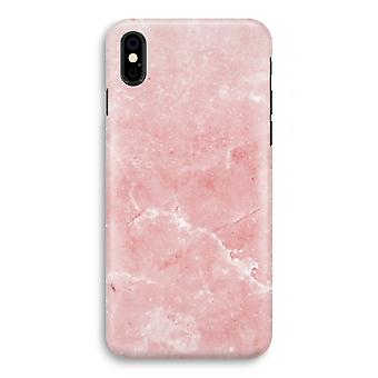iPhone X Full Print Case - Pink Marble
