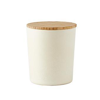 Galzone Off White Storage Pot, Medium