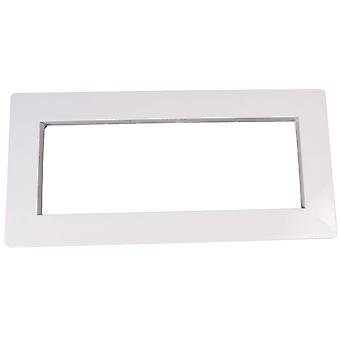 Custom 25541-000-020 Skimmer frontal tapa ancho - blanco