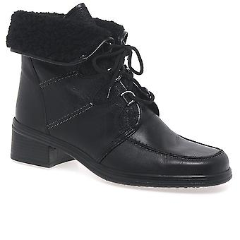 Gabor Gabor Rayce Leather Ankle Boots