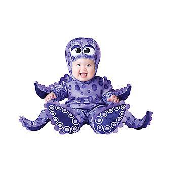 Lille fangarme blæksprutte Sealife Deluxe Baby drenge piger spædbarn kostume