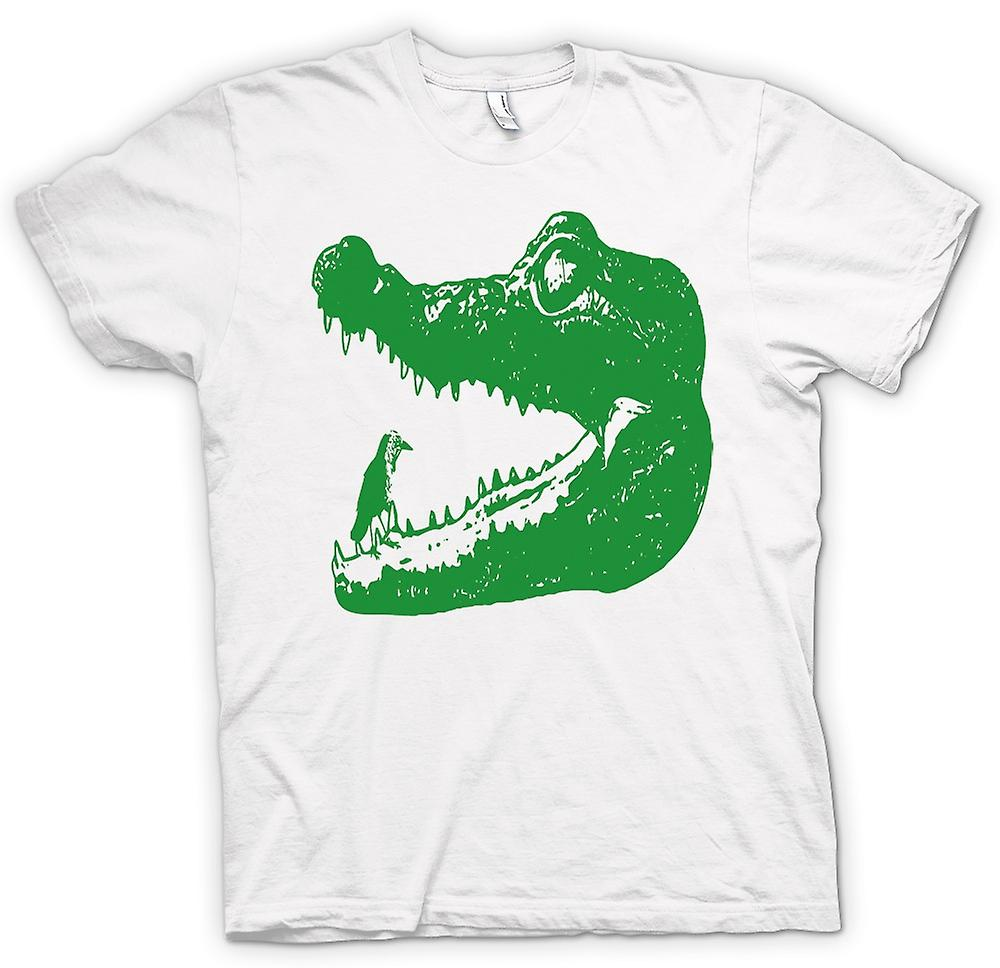 Womens T-shirt - Cool Aligator Crocodile - Cool Graphic Design