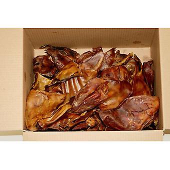 Hollings Schweine Ohren natürliche Leckereien Bulk Hundebox 20, britische Produkte
