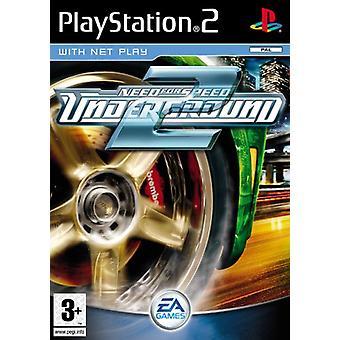 For Speed Need \u200b\u200bUnderground 2 (PS2)