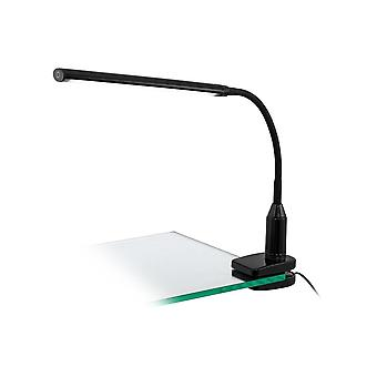 Eglo Laroa LED Touch Lamp With Desk Clamp Bracket