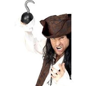 Piraat haak - Pvc (aantal 1)