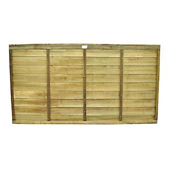 Forest Garden 3ft Pressure Treated Superlap Wooden Fence Panel