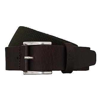 Cinturones tejidos cinturón verde/marrón Lee cinturones hombre 5425