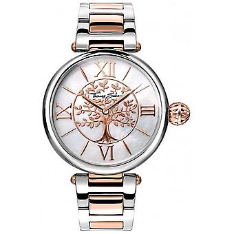 Thomas Sabo Womens Glam And Soul Karma Rose Gold And Silver WA0315-272-213-38