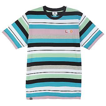 Lrg Brilliant Youth Stripe Knit T-shirt Black