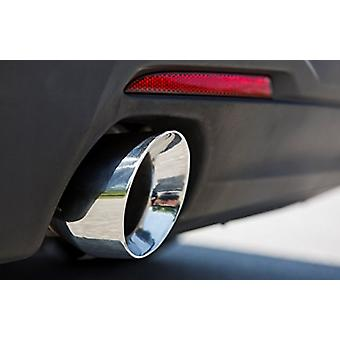 Mishimoto MMEXH-CAM4-16ADTRP Polished Dual Tip Race Axle-Back Exhaust (Chevrolet Camaro 2.0T, 2016+)