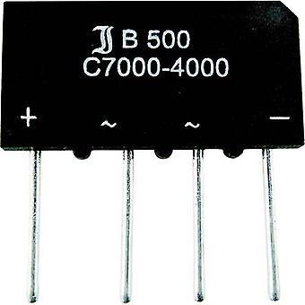 Diode bridge Diotec B40C5000A SIL 4 80 V 5 A