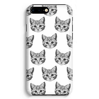 iPhone 8 Plus Full Print Case (Glossy) - Kitten