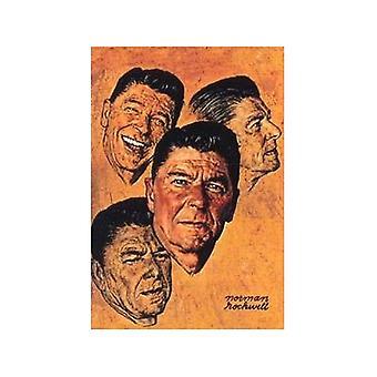 Ronald Reagan Fridge Magnet