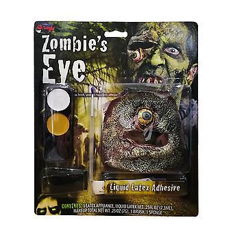 Zombie Dangling Eye Make Up Kit