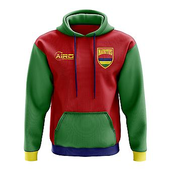 Mauritius Concept Country Football Hoody (Red)