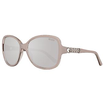 GUESS ladies sunglasses Butterfly cream