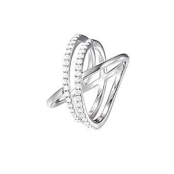 Joop women's ring silver zirconia REFINED JPRG90799A1