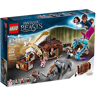 LEGO 75952 Newt's case with magical creatures