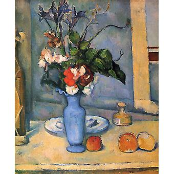 O vaso azul, Paul Cezanne, 61x50cm