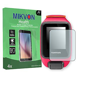 TomTom Runner 3 Screen Protector - Mikvon Health (Retail Package with accessories)