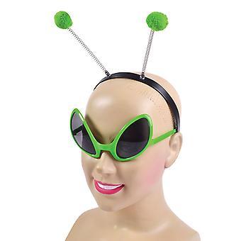 Alien Set (Glasses + Headband)